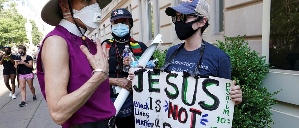 Protests against racial inequality continue in Washington