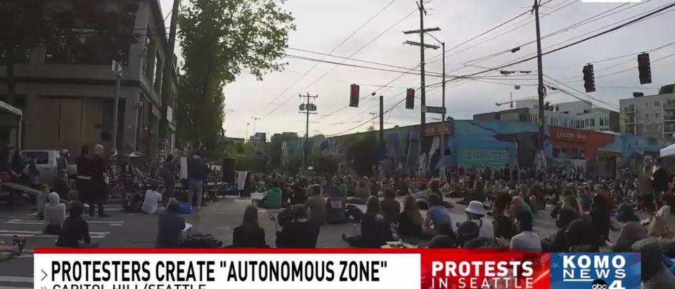"""Seattle's """"autonomous zone"""""""