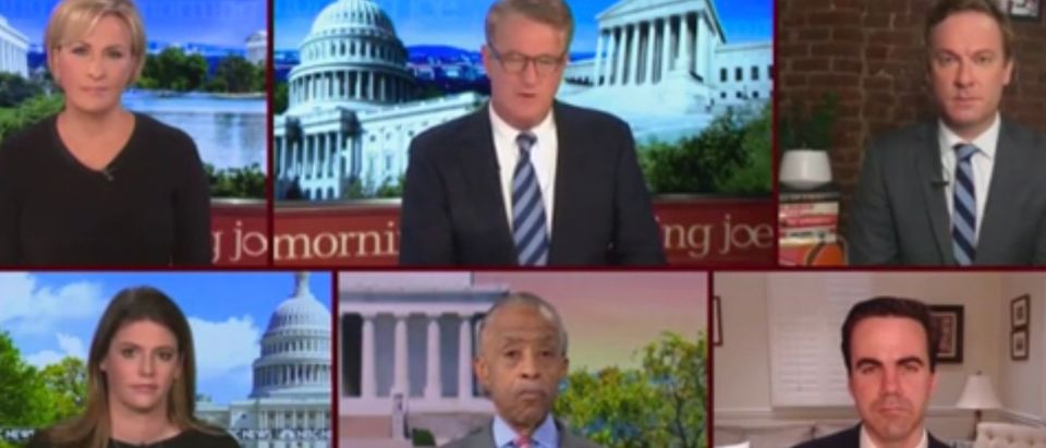Joe Scarborough and guests