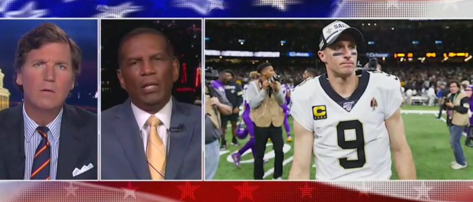 Burgess Owens blasts Brees critics (Fox News screengrab)