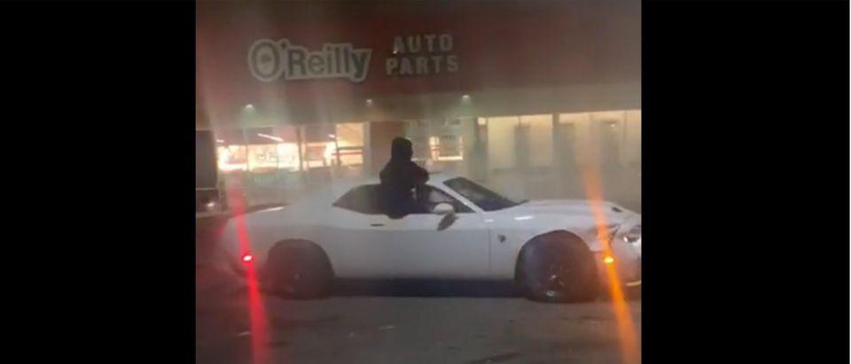 Car Robbery (Credit: Screenshot/Instagram Video https://www.instagram.com/tv/CA4dLdTlzFn/)