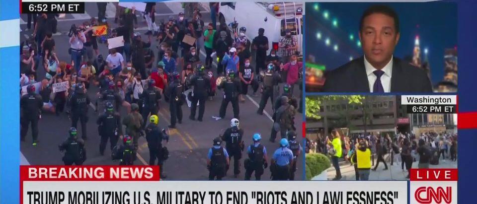 Don Lemon says U.S 'teetering on dictatorship' (CNN screengrab)