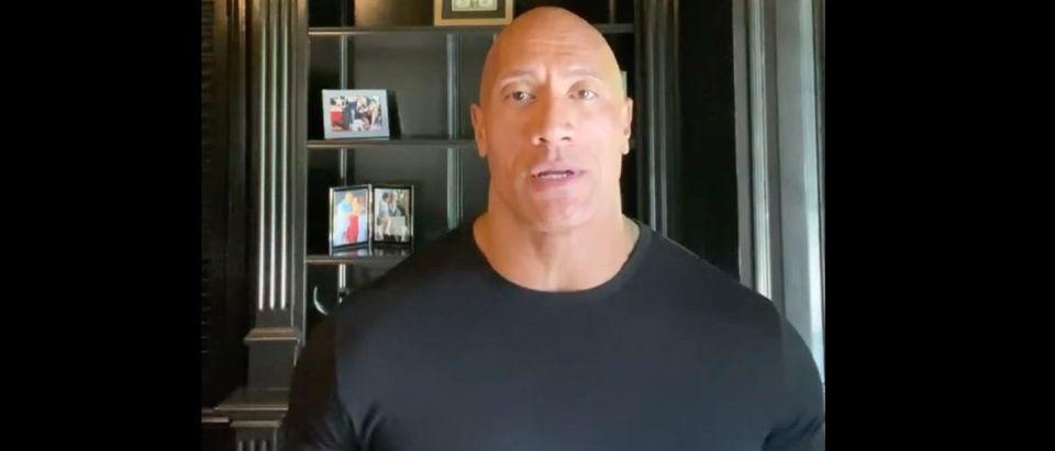 Dwayne Johnson (Credit: Screenshot/Instagram Video https://www.instagram.com/p/CA_tVdXnWr1)