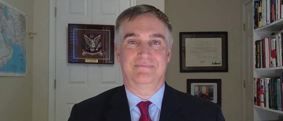 Fred Fleitz discusses Bolton book (Fox News screengrab)
