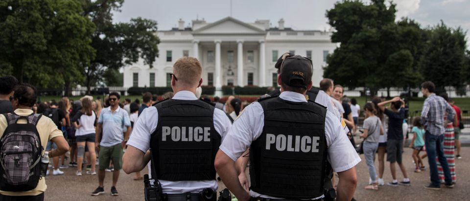 """Antifa Activists Protest One Day Ahead Of """"Unite The Right"""" Rally In DC"""