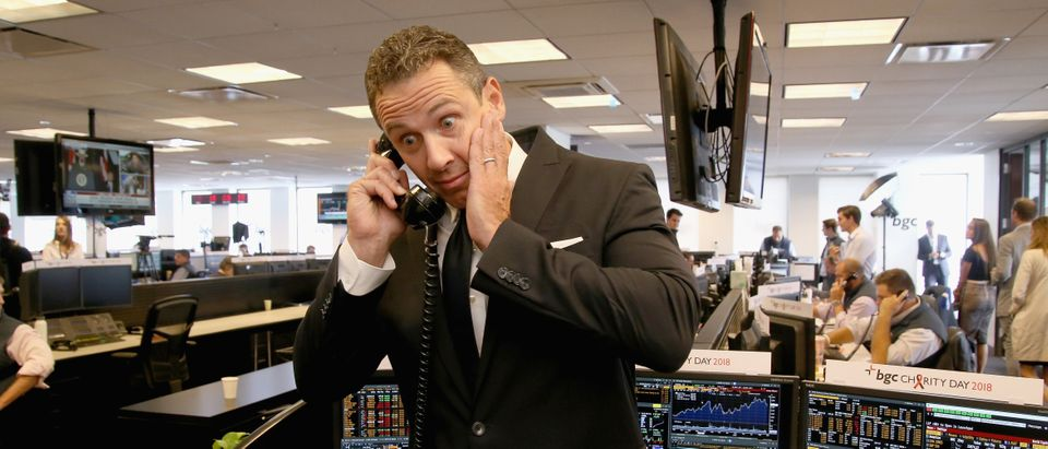 Chris Cuomo attends Annual Charity Day hosted by Cantor Fitzgerald, BGC and GFI at BGC Partners, INC on September 11, 2018 in New York City. (Donald Bowers/Getty Images for Cantor Fitzgerald)