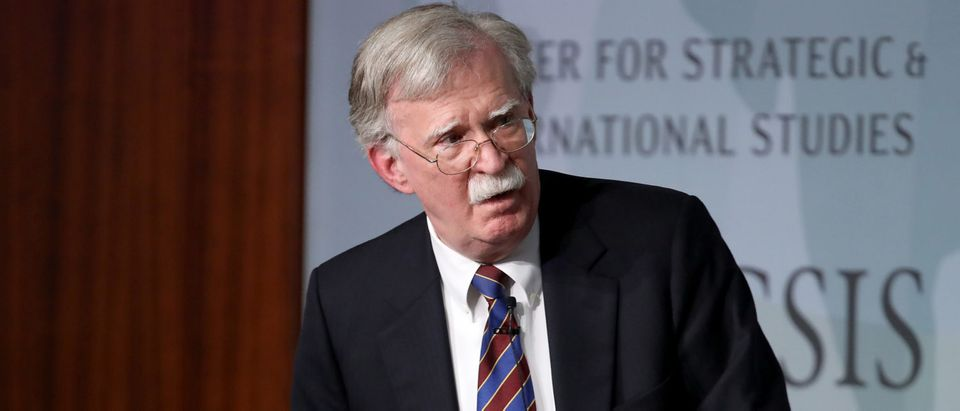 Former U.S. National Security Advisor John Bolton appears at the Center for Strategic and International Studies before delivering remarks September 30, 2019 in Washington, DC. (Win McNamee/Getty Images)