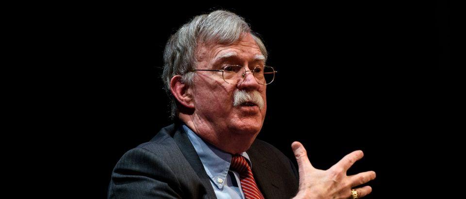 Former White House Nat'l Security Adviser John Bolton Speaks At Duke University Forum