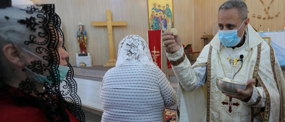 IRAQ-KURDS-HEALTH-VIRUS-RELIGION-CHRISTIANITY