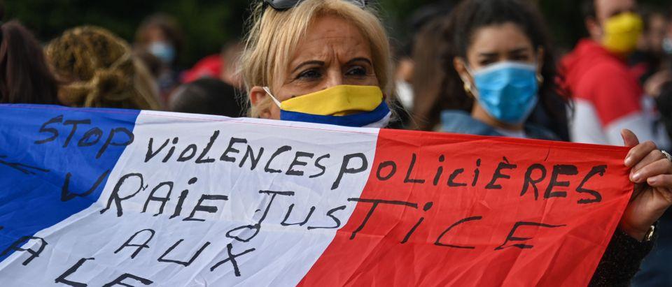 FRANCE-POLICE-DEMO