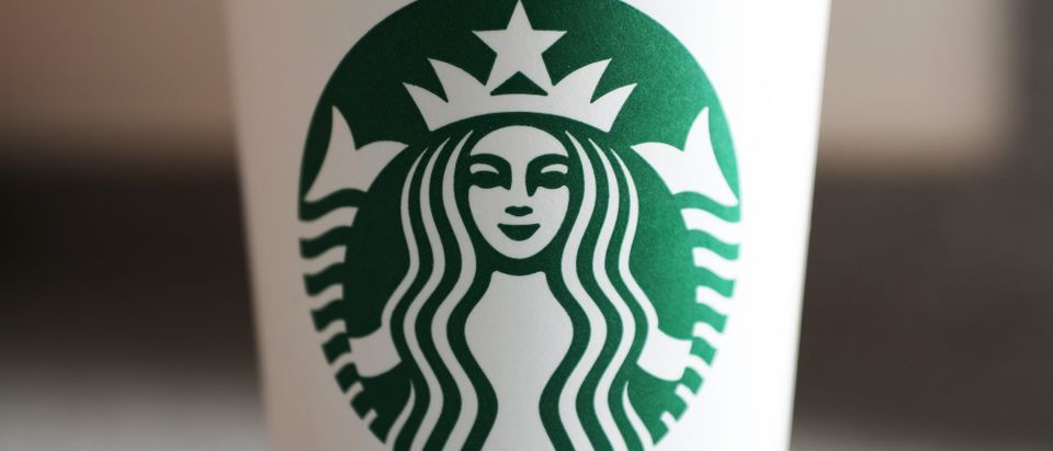 SOUTHAMPTON, ENGLAND - MAY 15: A photo illustration of a beverage from Starbucks in Hedge End, Southampton after the store reopens for take away on May 15, 2020 in Southampton, England . (Photo by Naomi Baker/Getty Images)