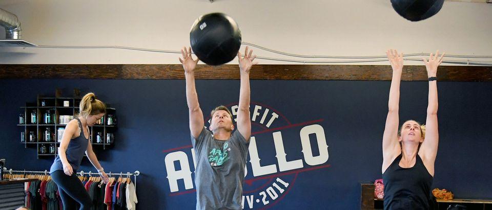 Las Vegas CrossFit Gym Reopens