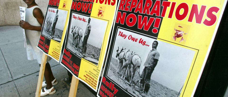 Slave Reparations Focus of NYC Protest