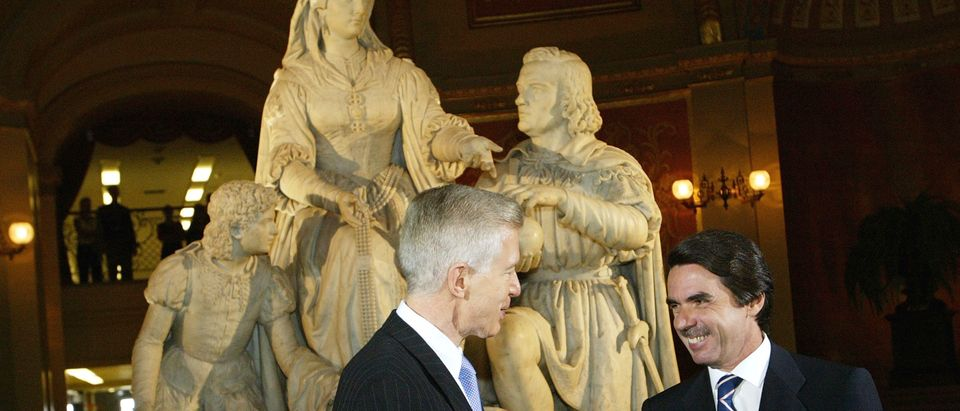 President Of Spain Meets With California Governor