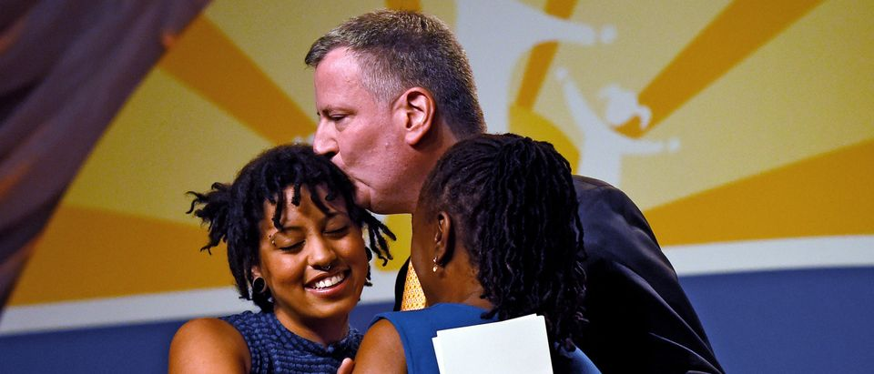 Sebelius Awards NYC Mayor De Blasio's Daughter With Special Recognition Award At Health Conference