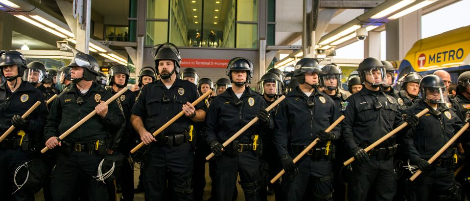 Black Lives Matter Activists Group Protest at the Mall of America and the Minneapolis-St. Paul Airport