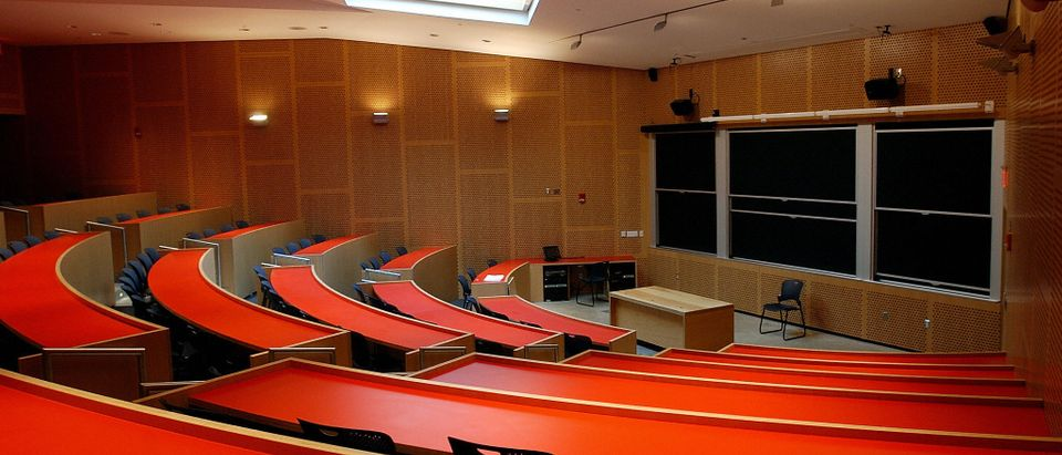 A large lecture hall in the newest build