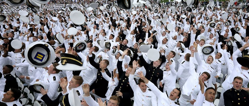 Vice President Mike Pence Attends U.S. Naval Academy Graduation In Annapolis