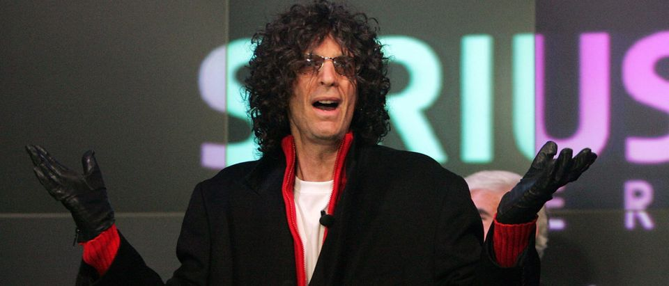 Howard Stern Presides Over NASDAQ Opening Bell
