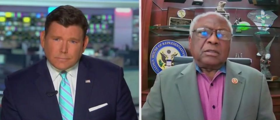 James Clyburn and Bret Baier discuss criminal justice reform (Fox News screengrab)