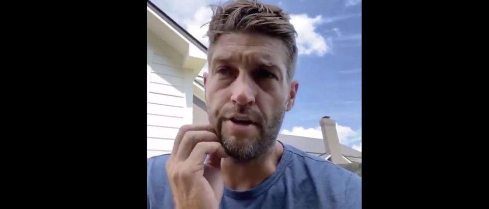 Jay Cutler (Credit: Screenshot/Twitter Video https://twitter.com/DukeSilver00/status/1275931383664447489)