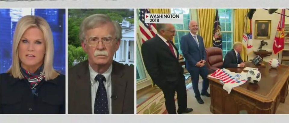 Martha MacCallum presses John Bolton on impeachment testimony (Fox News screengrab)