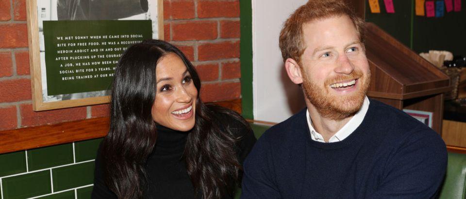 Prince Harry And Meghan Markle Visit Edinburgh