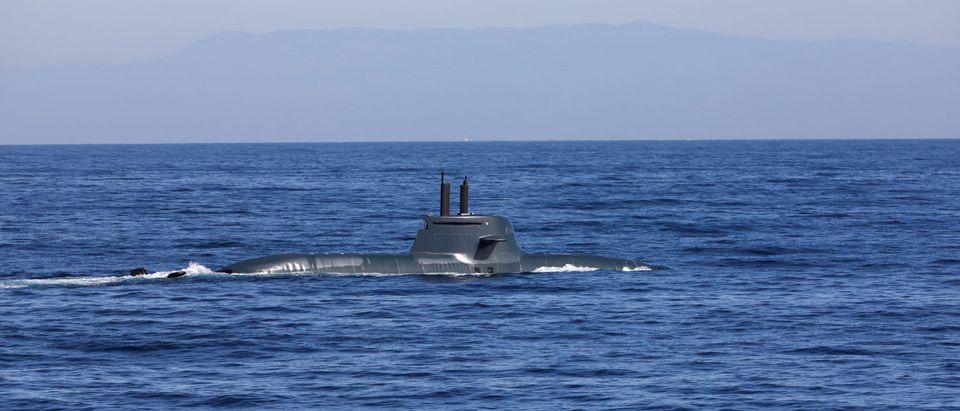 Dynamic Manta 2020, a NATO anti-submarine warfare exercise in air off the coast of Catania