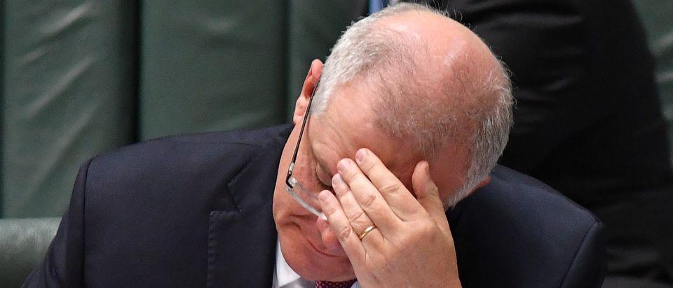 Scott Morrison at Parliament House