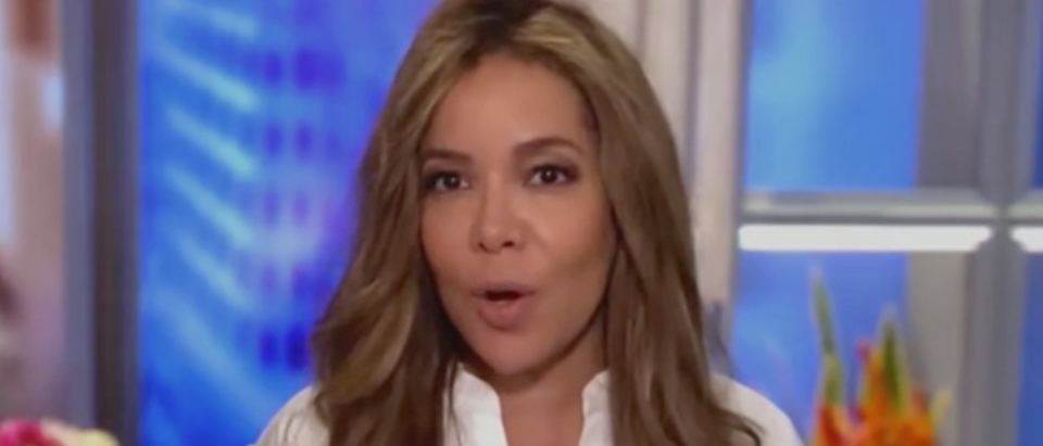 """Sunny Hostin appears on """"The View"""""""