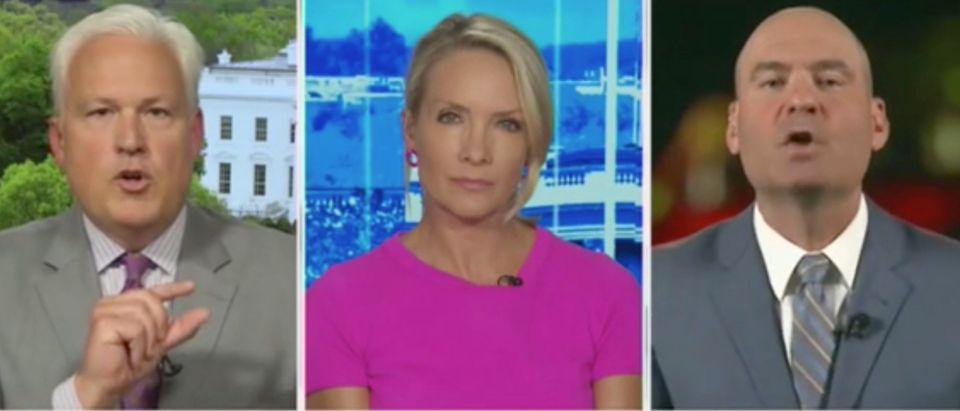 """Matt Schlapp and Chris Hahn join Dana Perino on """"The Daily Briefing."""" Screenshot/Fox News"""