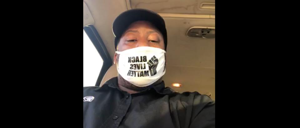 Denzel Skinner Taco Bell BLM Mask
