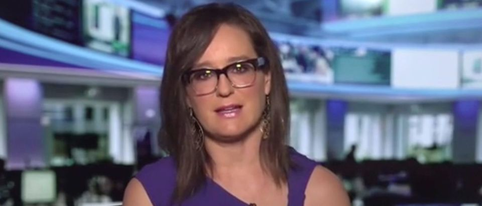 "Lisa Kennedy appears on ""Outnumbered."" Screenshot/Fox News"