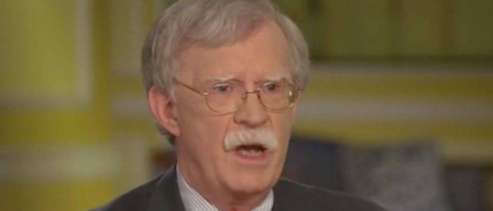"John Bolton appears on ""Special Report."" Screenshot/Fox News"