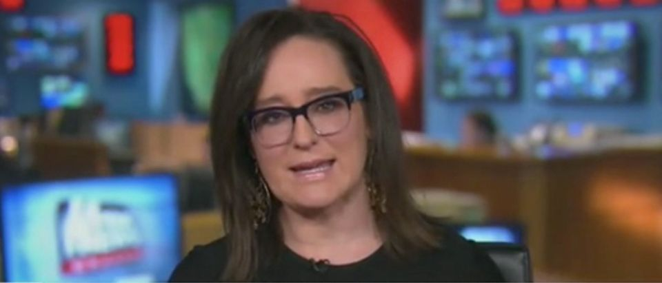 "Fox Business host Lisa Kennedy appears on ""The Five."" Screenshot/Fox News"