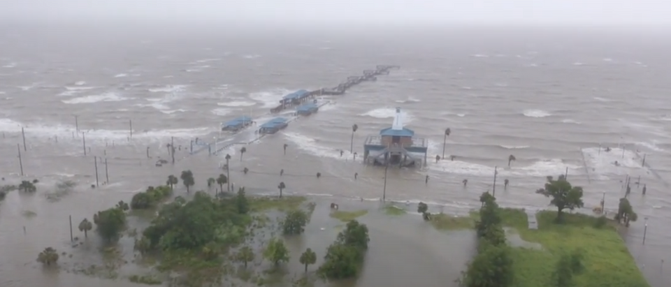 Cristobal weakens to a tropical depression after smashing into Louisiana and parts of Mississippi (YouTube screenshot/CBS News)