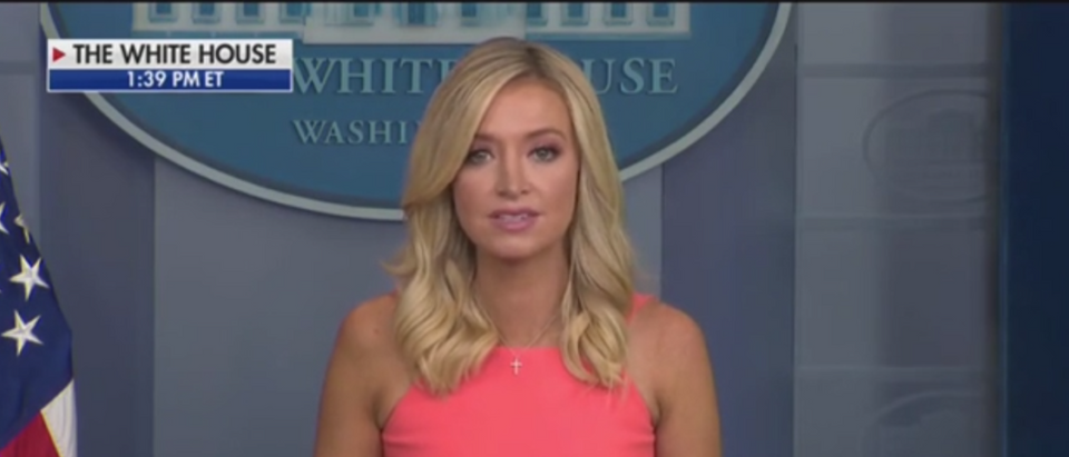 'Absolutely Absurd': Kayleigh McEnany Reacts To Reporter Asking If Trump Is Glad South Lost The Civil War