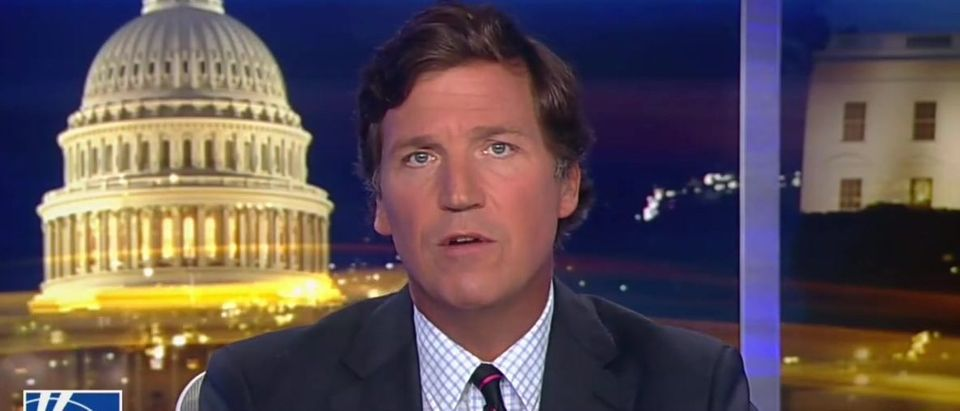 Tucker Carlson breaks down police shootings of unarmed black people (Fox News screengrab)