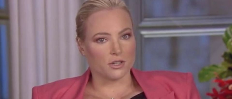 "Meghan McCain appears on ""The View."" Screenshot/ABC"