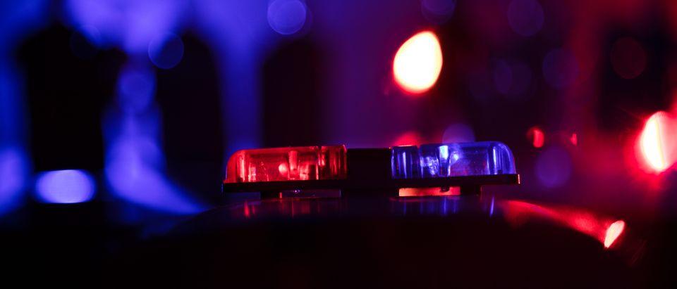 Stock police cruiser lights