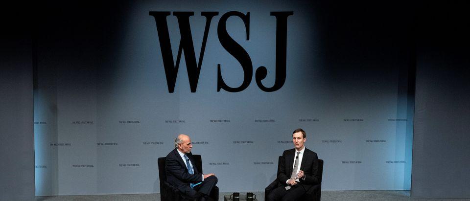 White House senior advisor Jared Kushner speaks at the Wall Street Journal CEO Council