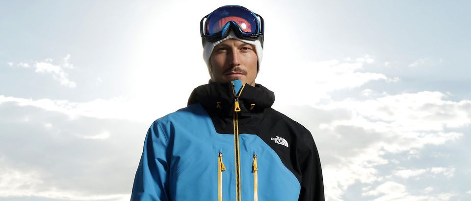 Australian snowboarder Alex 'Chumpy' Pullin poses during a portrait session at Watsons Bay on April 18, 2013 in Sydney, Australia. Pullin is the current world champion in snowboard cross. (Photo by Cameron Spencer/Getty Images)