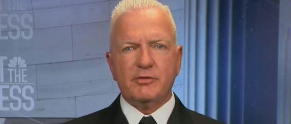 Brett Giroir says Dr. Fauci 'not 100% right' (NBC screengrab)