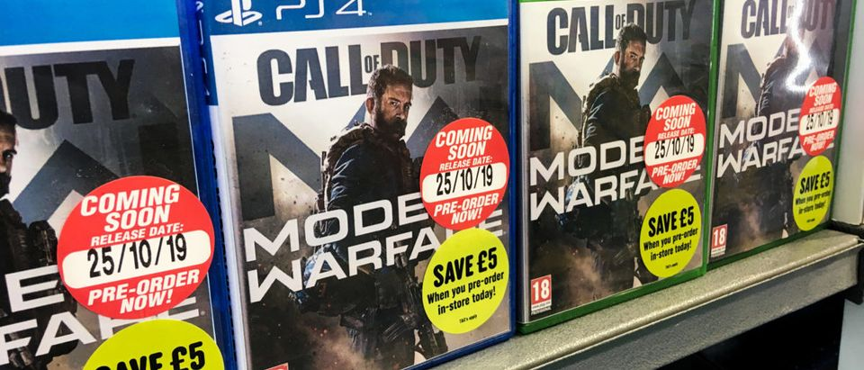 Call of Duty (Credit: Shutterstock/David Cardinez)
