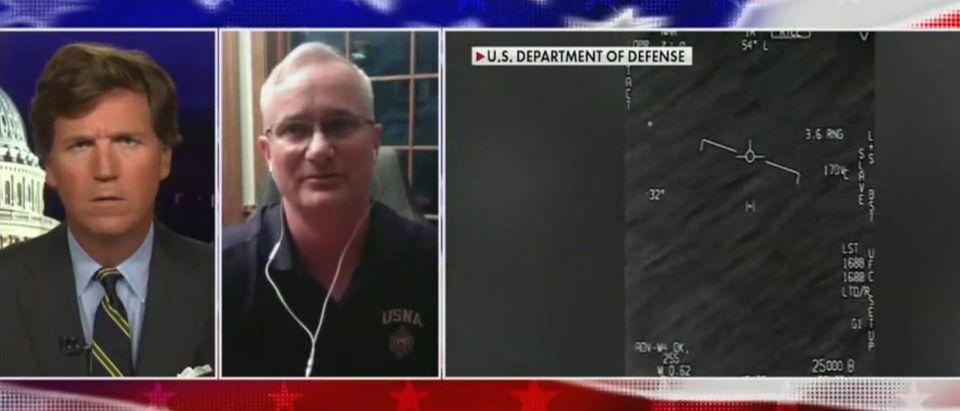 David Fravor speculates on latest UFO report (Fox News screengrab)