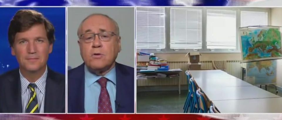 Dr. Marc Siegel makes case for schools opening (Fox News screengrab)