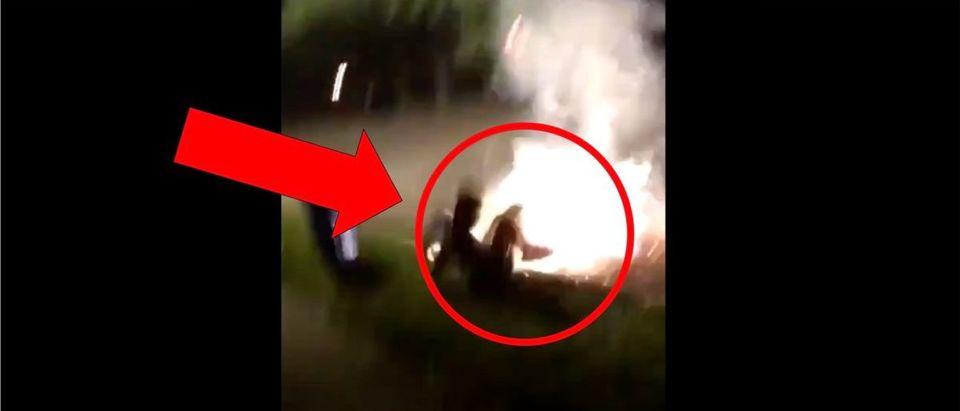 Fireworks Groin (Credit: Screenshot/Twitter Video https://twitter.com/barstoolsports/status/1279920672991522816)