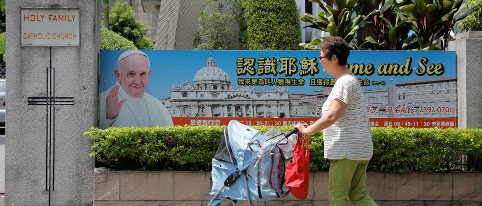 HONG KONG-CHINA-TAIWAN-VATICAN-POLITICS-CATHOLILC-CHURCH-RELIGIO