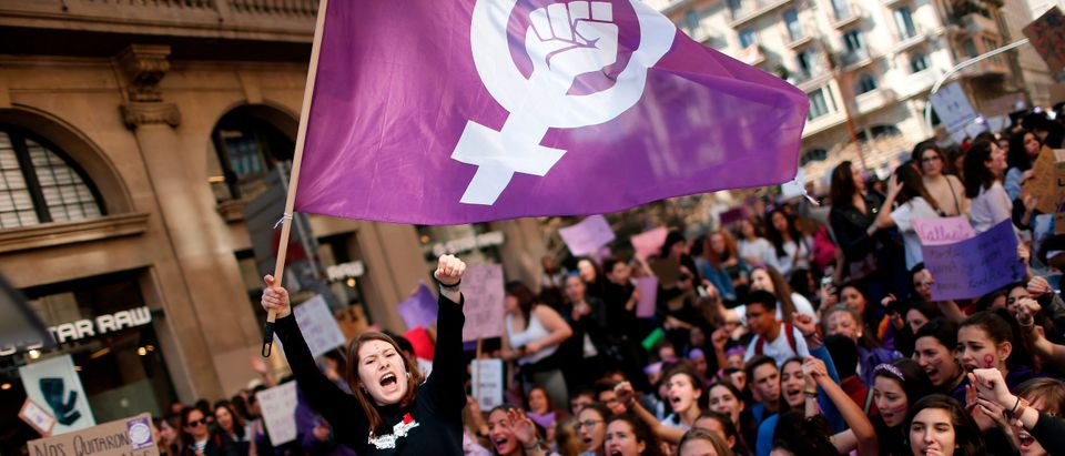 SPAIN-WOMEN-8MARCH-RIGHTS