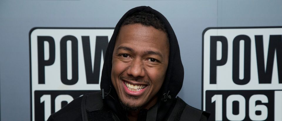 Nick Cannon attends Nick Cannon, Meruelo Media, Skyview Announce Radio Syndication on December 04, 2019 in Burbank, California. (Gabriel Olsen/Getty Images)